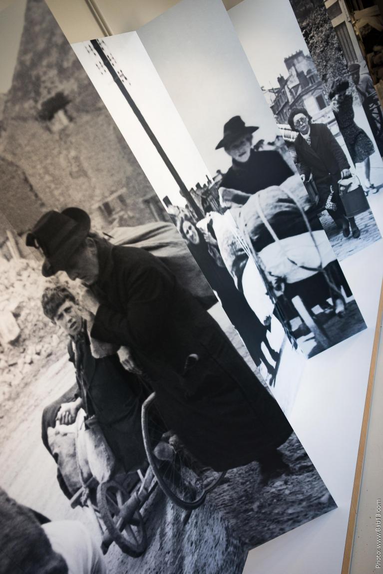 1er étage : les civils et la libération