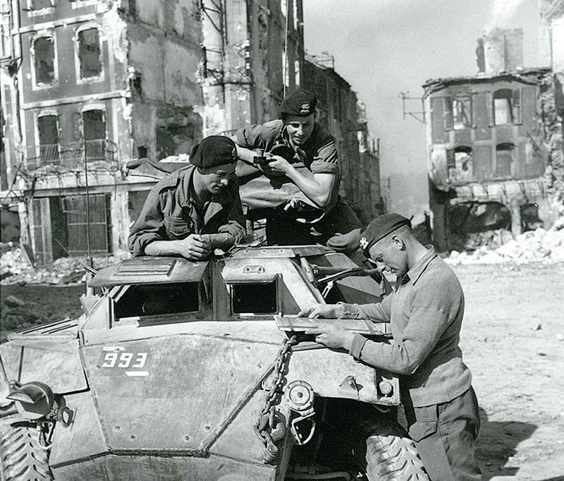 Le pays de Falaise dans la guerre 39-45